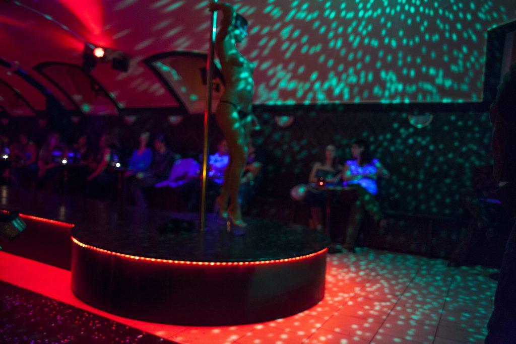 Strip Club Entry