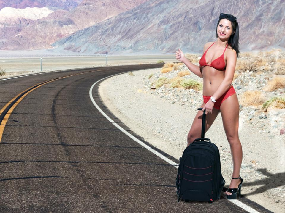 Hitchhiking Stripper