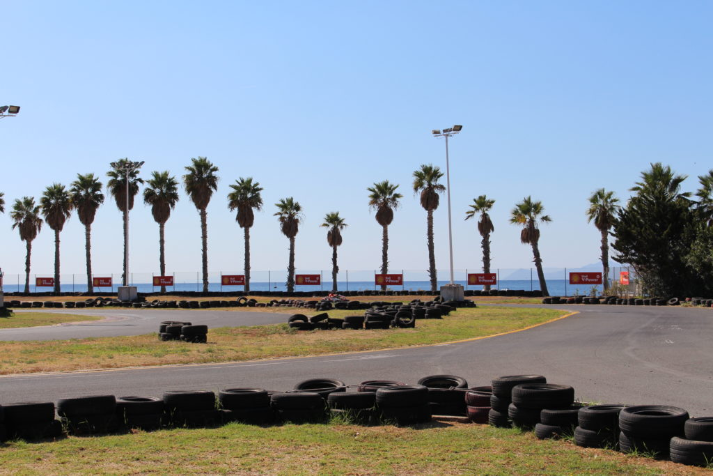 Go karting by the sea
