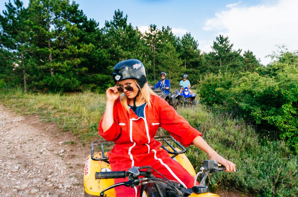 Scooter / Firhjuling / Sykkeltur